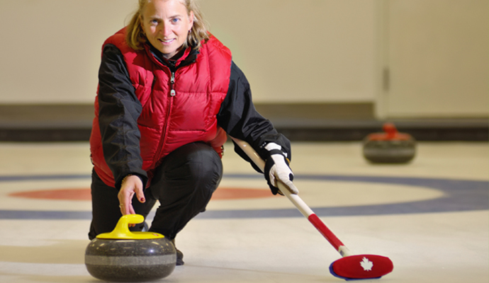 Sweep to success, enjoy curling!